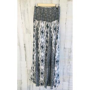 Free People Women of the Water Strapless Maxi Dres